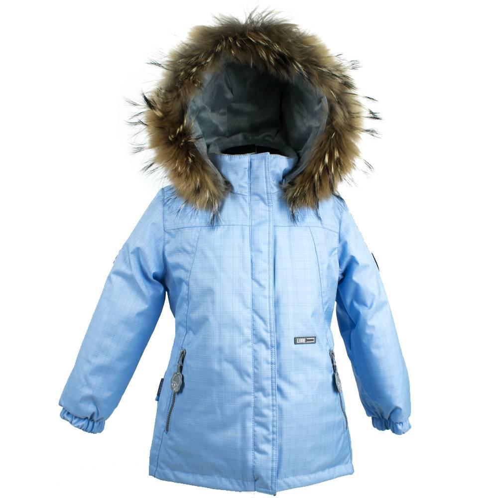 Парка для девочки LENNE зимняя съемный капюшон опушка натуральный мех Aсtive PLUS MARION 18329F/4120