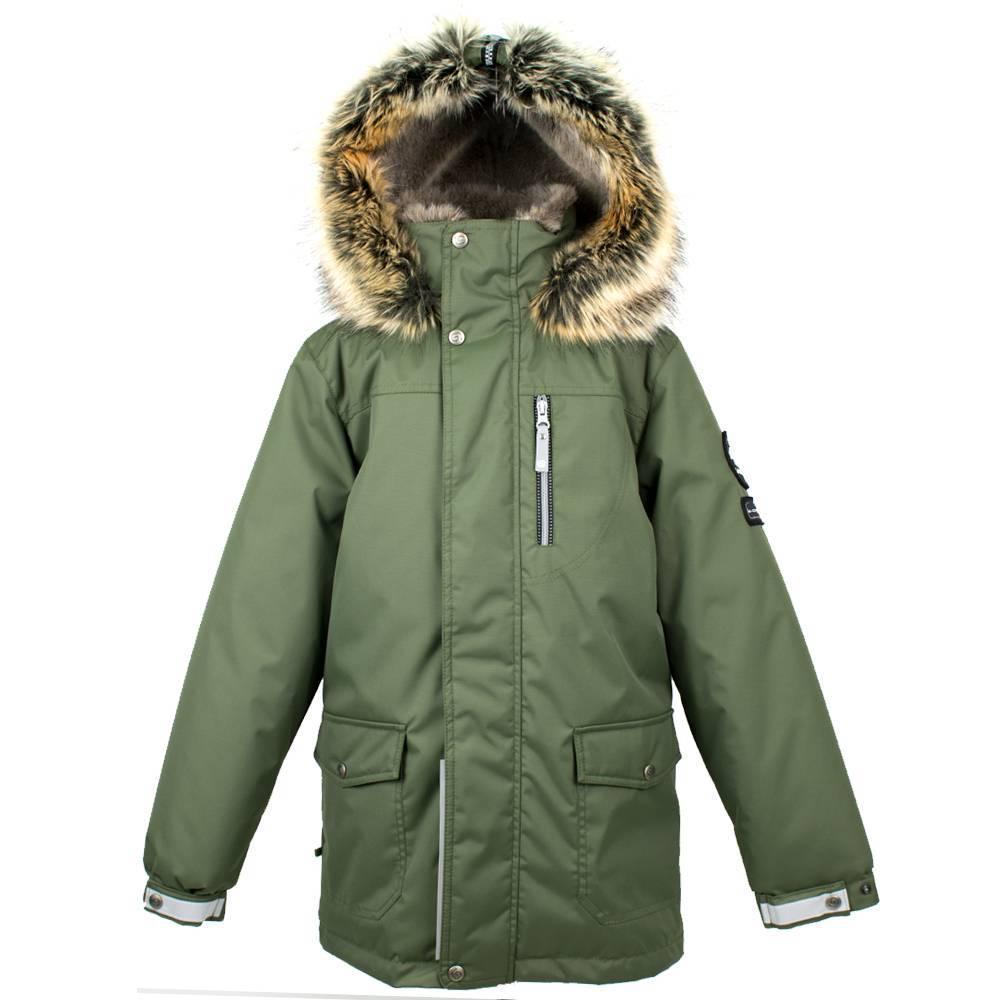 Парка для мальчика LENNE зимняя куртка ткань Aсtive PLUS капюшон съемный WOODY