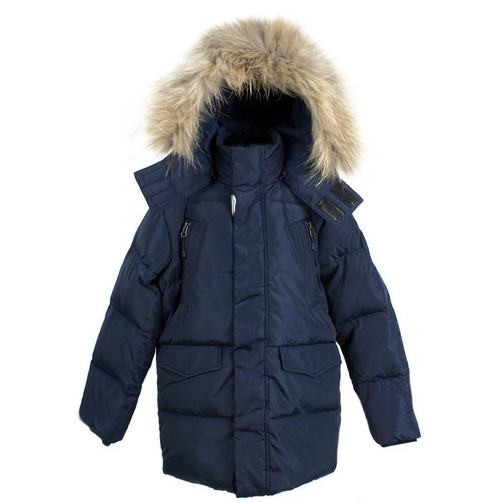 Куртка зимняя пуховая с капюшоном для мальчика LENNE FOSTER
