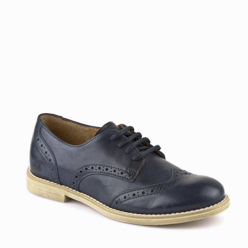 Туфли для мальчика Froddo классика синий натуральная кожа G4130049/DarkBlue