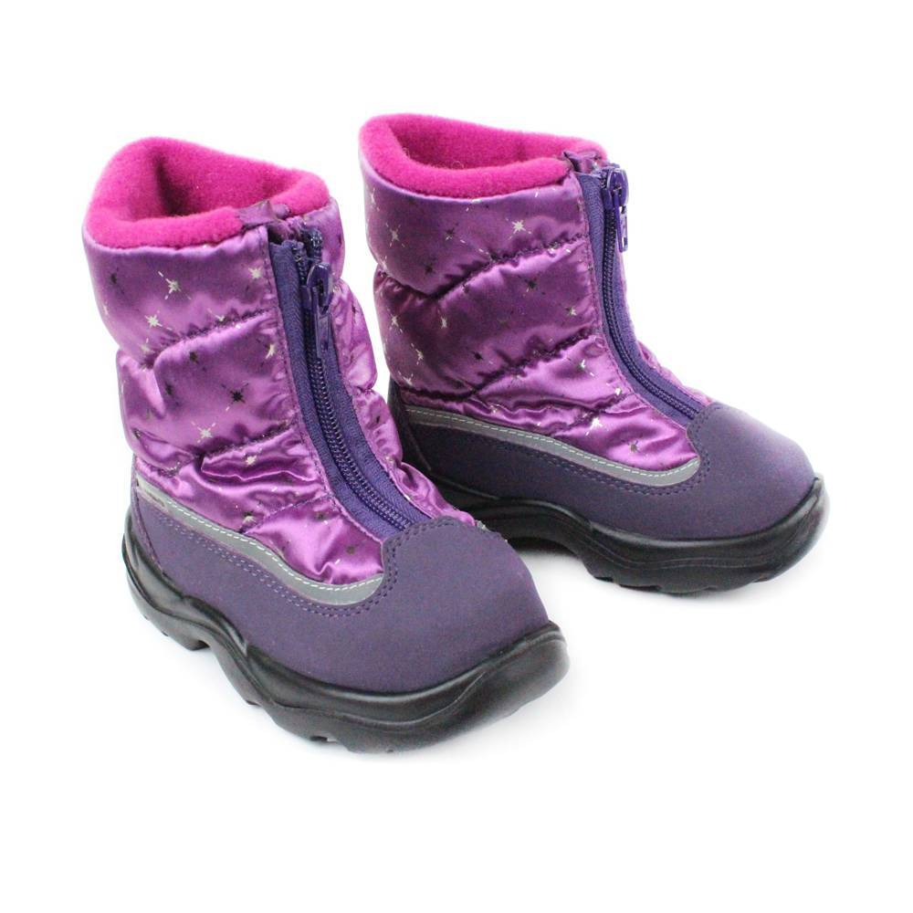 Сапоги для девочки Skandia зимние 8179R/TuonoPolar_Purple