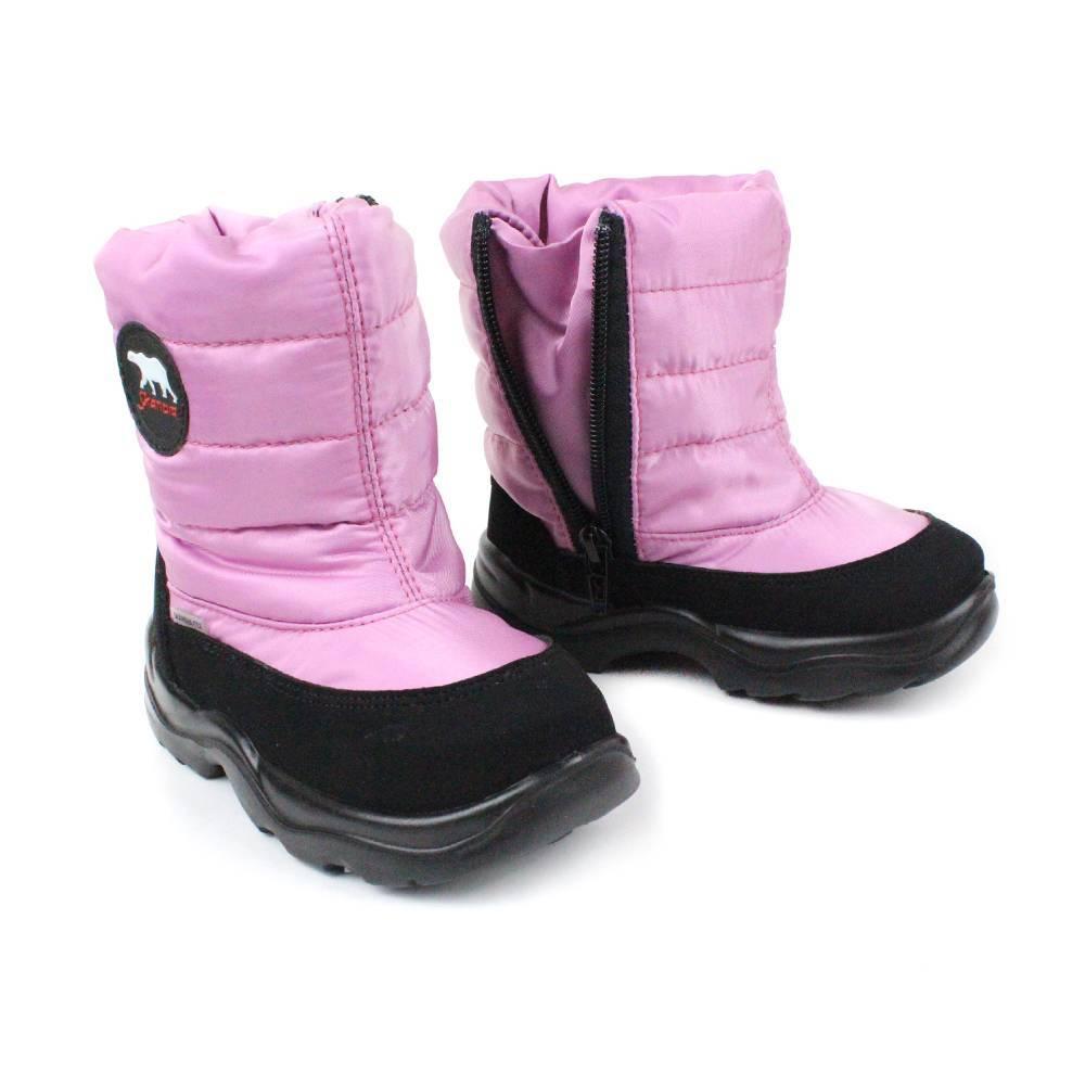 Сапоги для девочки Skandia зимние на молнии 8428R/TuonoDinamic_BlkGum