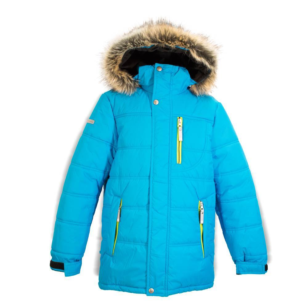 Куртка для мальчика LENNE LUKE зимняя с капюшоном опушкой 17366/637