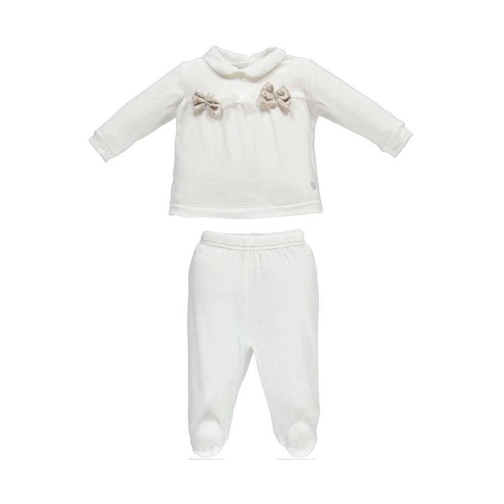 Комплект для девочки iDO для новорожденной реглан ползунок 4.V437.00/0112