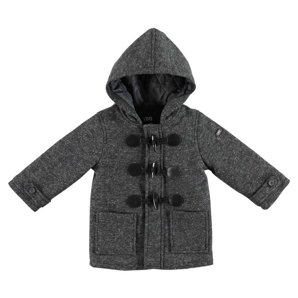 Пальто для мальчика iDO стеганная подкладка накладные карманы 4.V599.00/8994