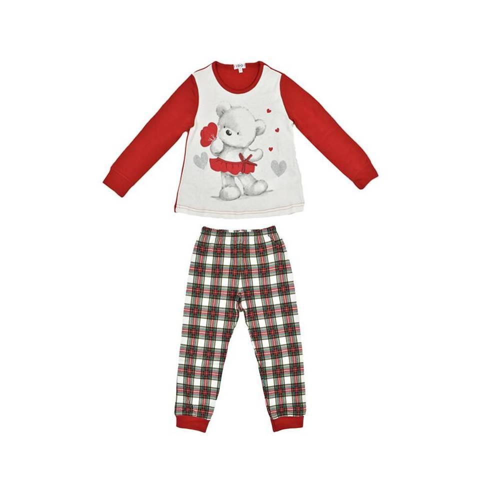 Пижама для девочки iDO демисезонная реглан штани хлопок трикотаж 4.V058.00/8002