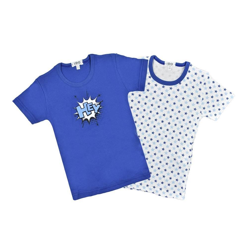 Комплект футболок для мальчика IDO хлопок трикотаж 4.V069.00/8020
