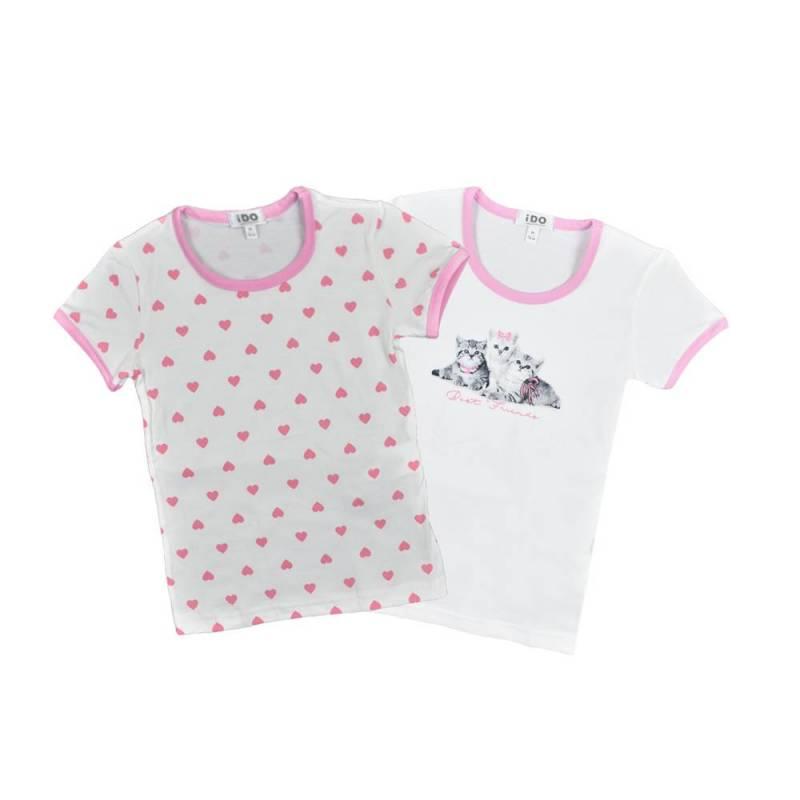 Комплект футболок для девочки
