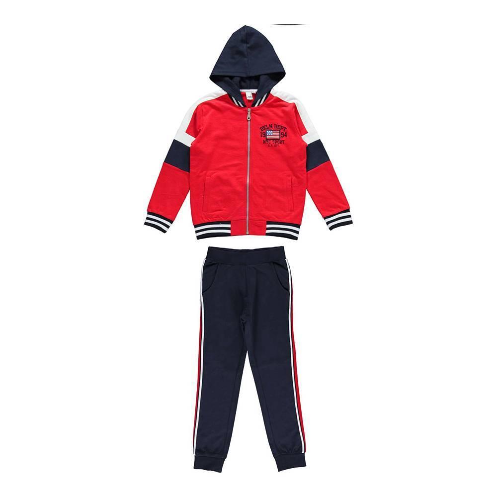Комплект для мальчика iDO спортивный хлопок трикотаж 4.W423.00/8010