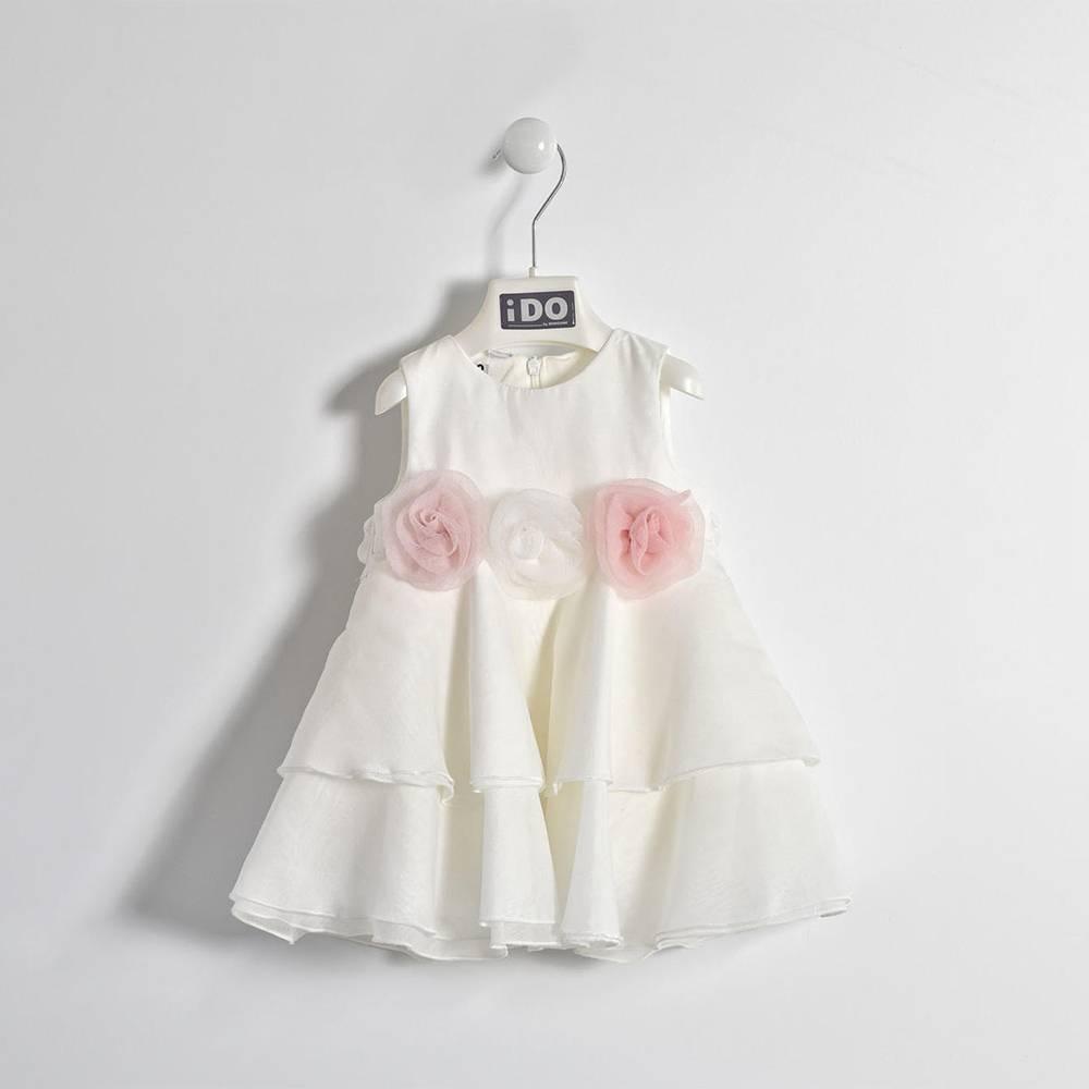 Платье для девочки iDO без рукава нарядное изысканое 4.W121.00/0112