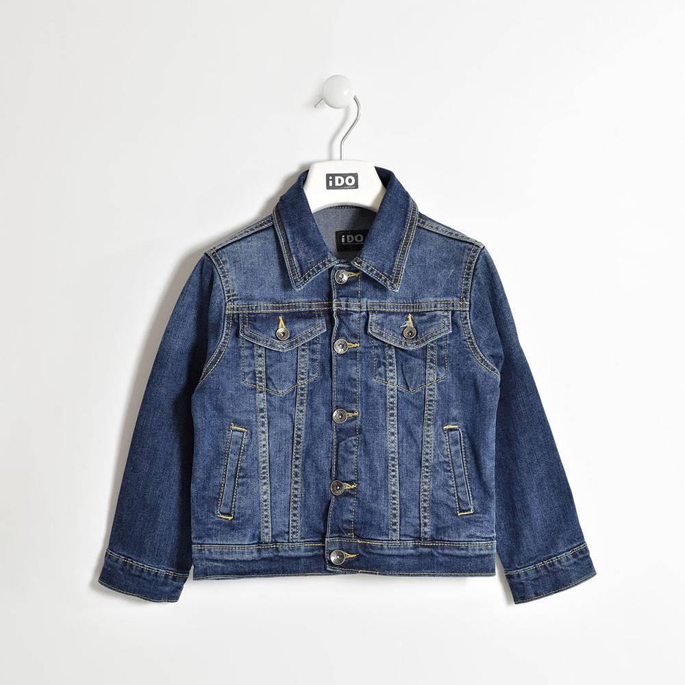 Куртка для мальчика iDO подростка джинсовая 4.W439.00/7450
